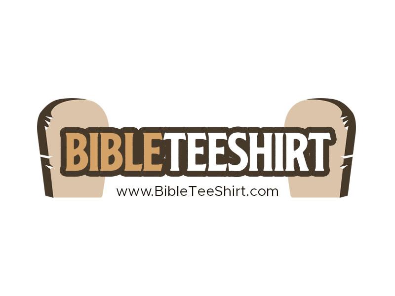 www.BibleTeeShirt.com logo design by kunejo