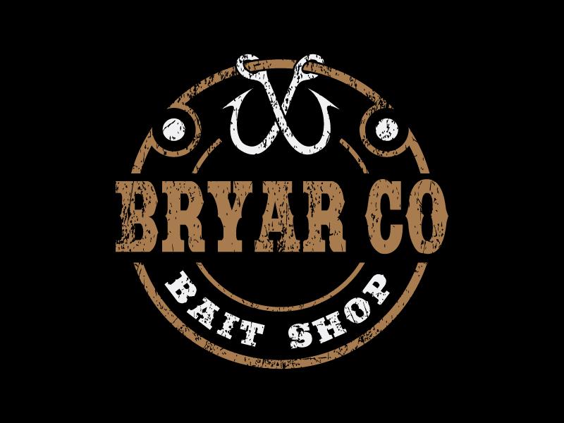 Bryar Co Bait Shop logo design by sakarep