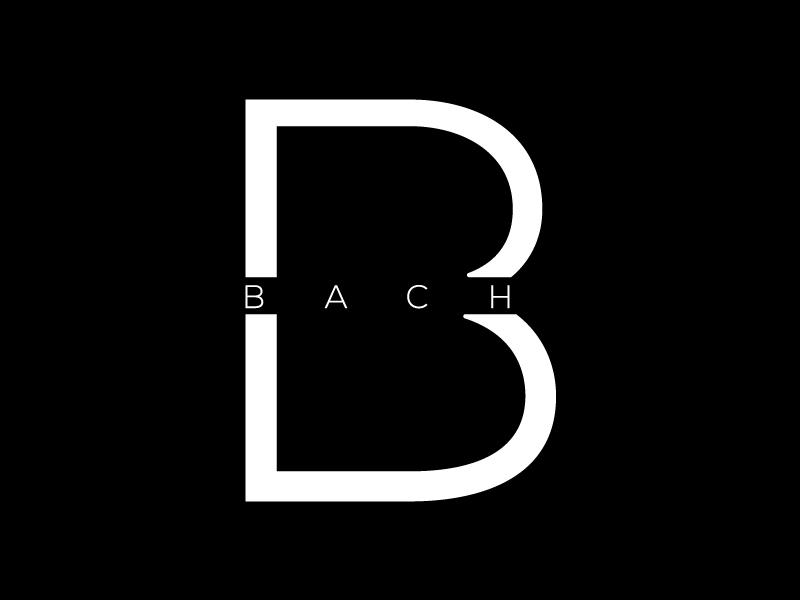 BACH logo design by Sami Ur Rab