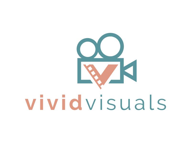 vivid visuals logo design by jaize