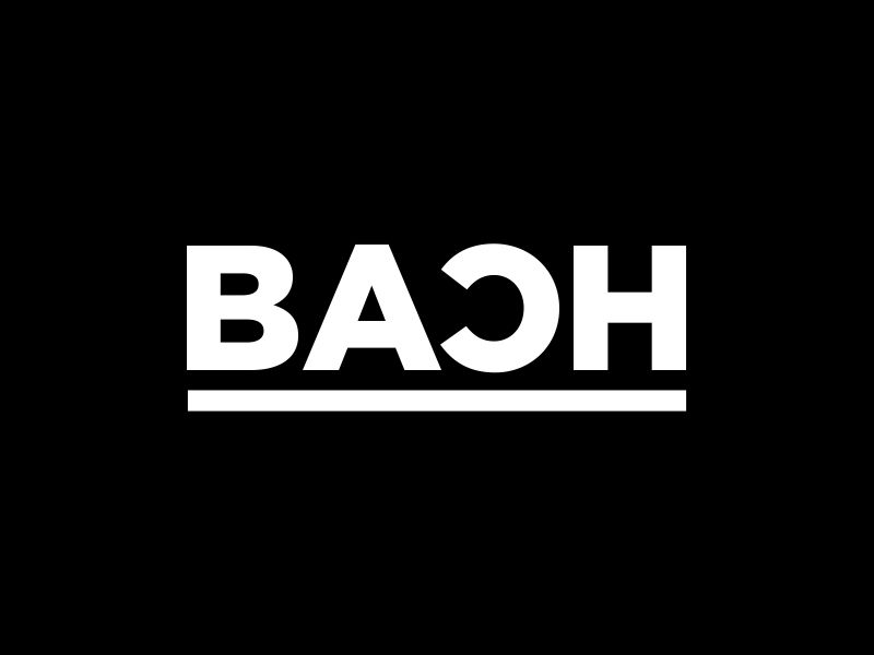 BACH logo design by MUNAROH
