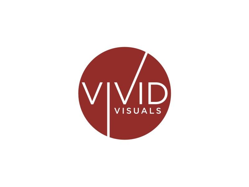 vivid visuals logo design by Arto moro