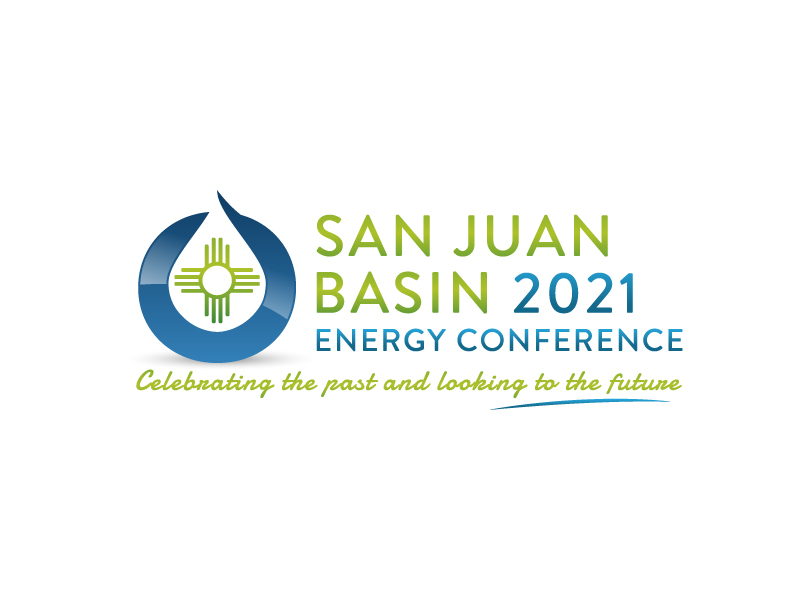 San Juan Basin Energy Conference logo design by akilis13