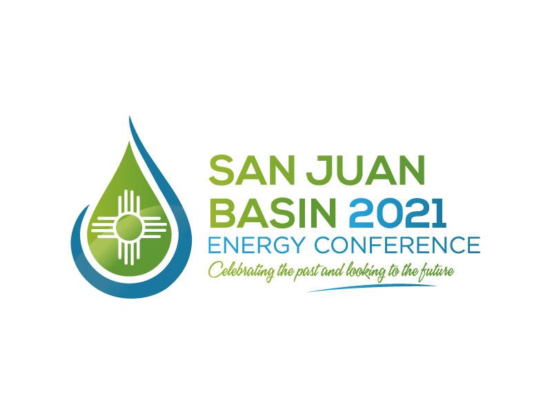 San Juan Basin Energy Conference logo design by Pintu Das