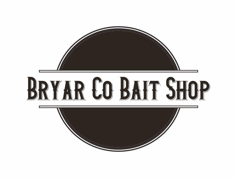 Bryar Co Bait Shop logo design by Greenlight