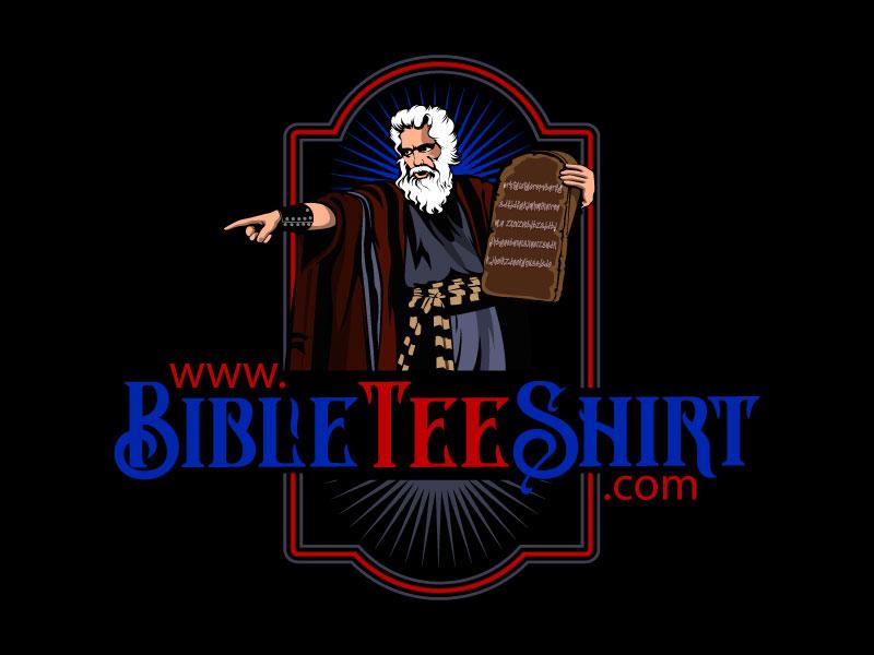 www.BibleTeeShirt.com logo design by DreamLogoDesign