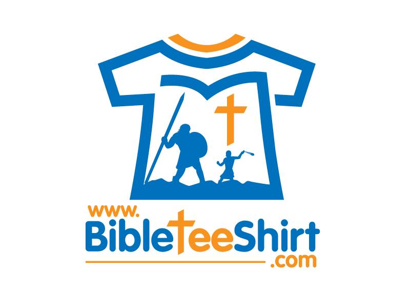 www.BibleTeeShirt.com logo design by jaize