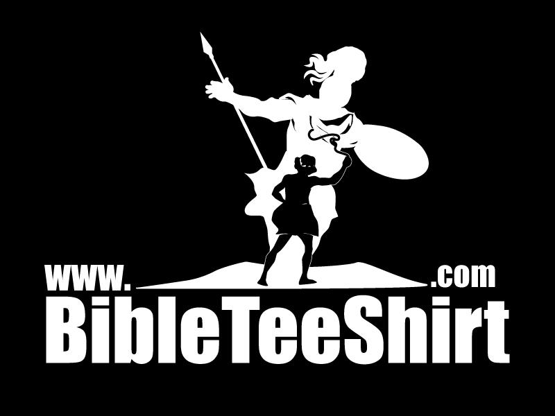 www.BibleTeeShirt.com logo design by ElonStark