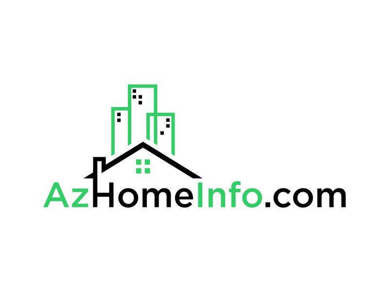 AzHomeInfo.com logo design by dewipadi