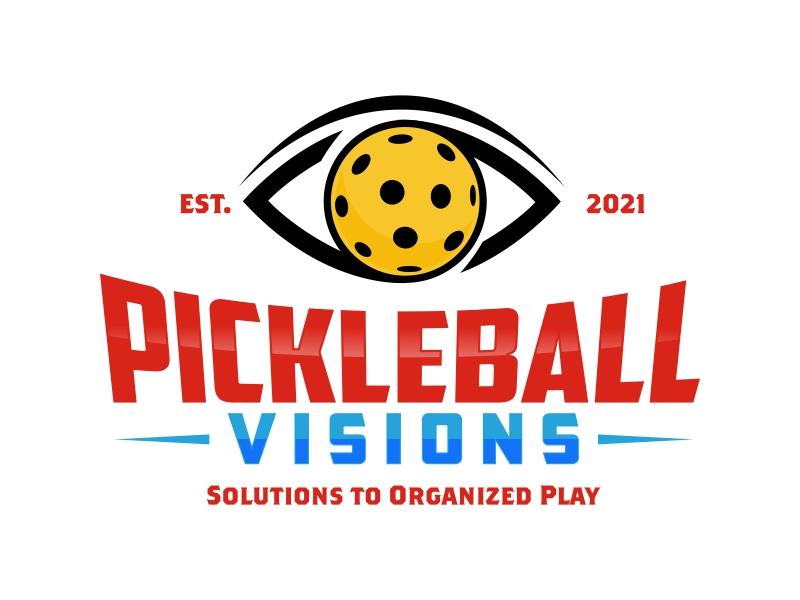 Pickleball Visions logo design by rizuki