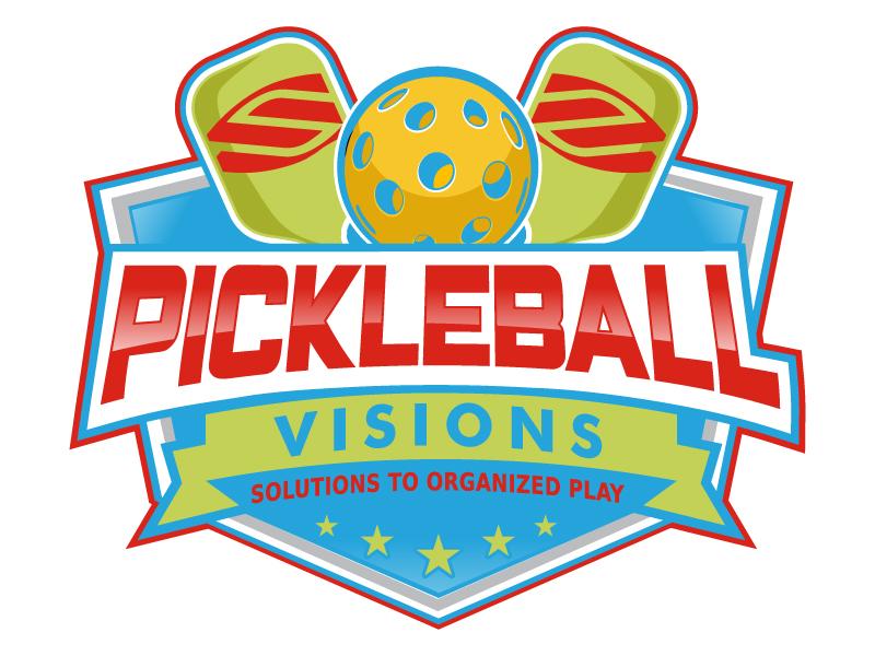 Pickleball Visions logo design by uttam