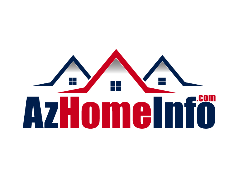 AzHomeInfo.com logo design by ElonStark