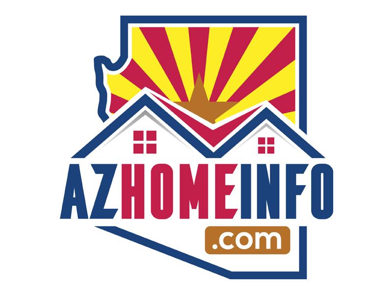 AzHomeInfo.com logo design by MAXR