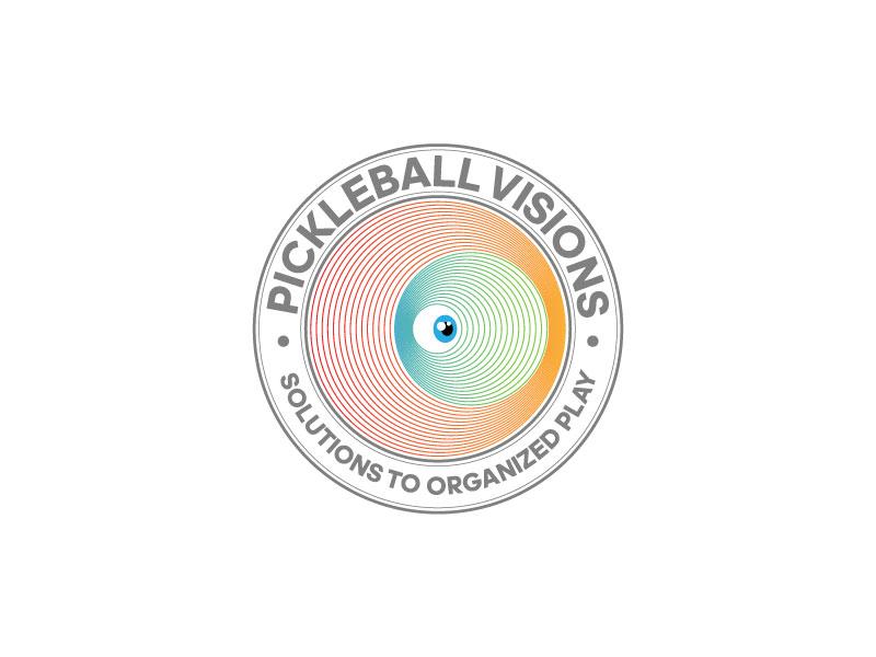 Pickleball Visions logo design by Piet Rheeders de Wet