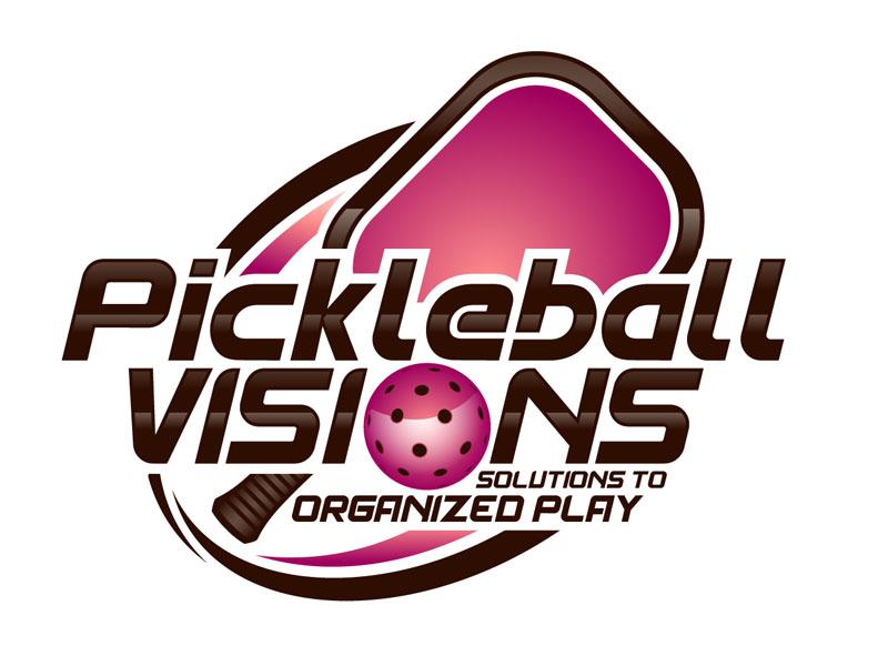 Pickleball Visions logo design by DreamLogoDesign