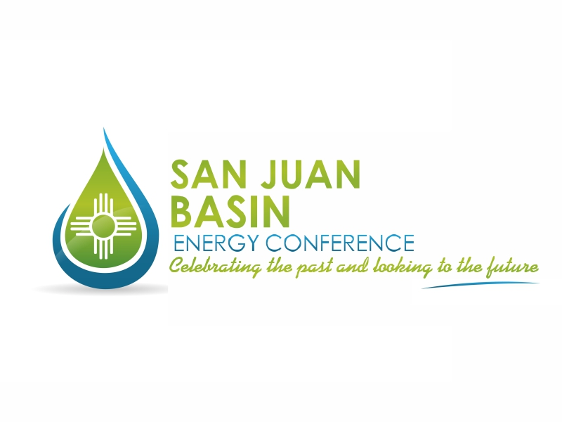 San Juan Basin Energy Conference logo design by Greenlight