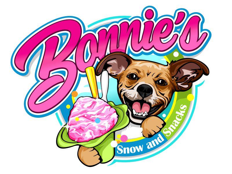 Bonnie's Snow and Snacks Logo Design