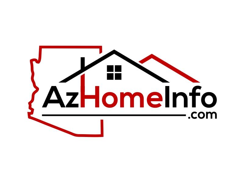 AzHomeInfo.com logo design by cintoko