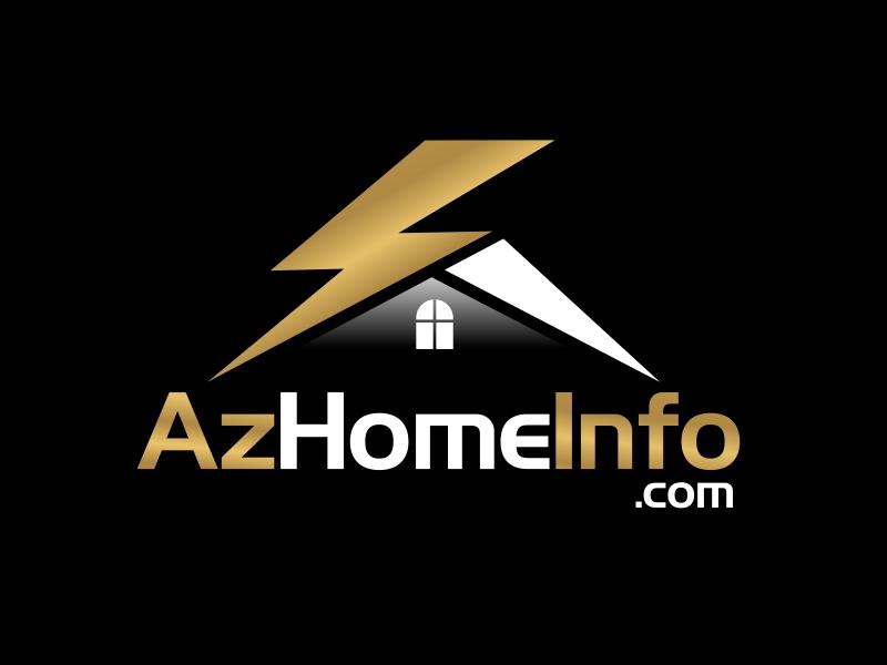 AzHomeInfo.com logo design by serprimero