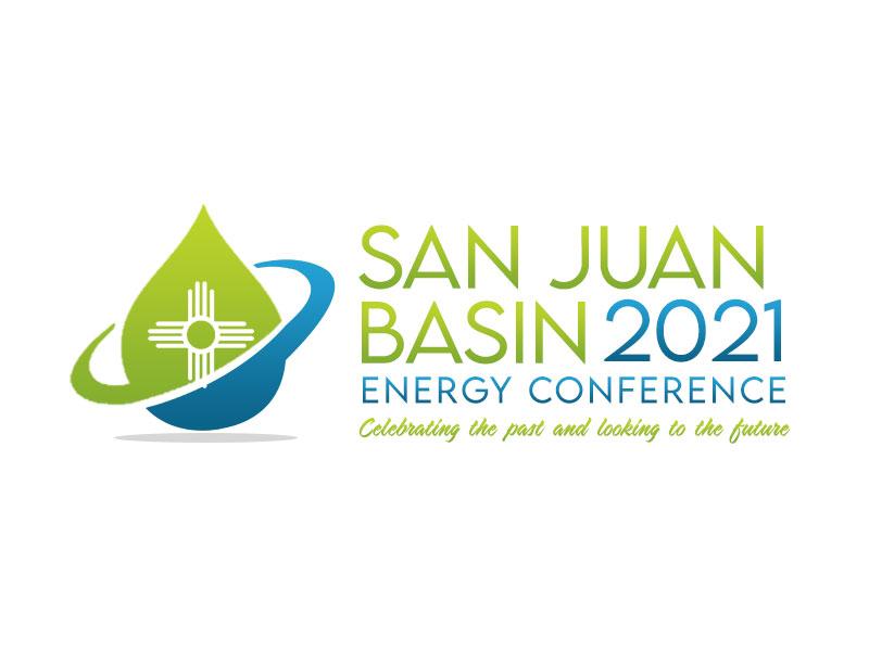 San Juan Basin Energy Conference logo design by kunejo