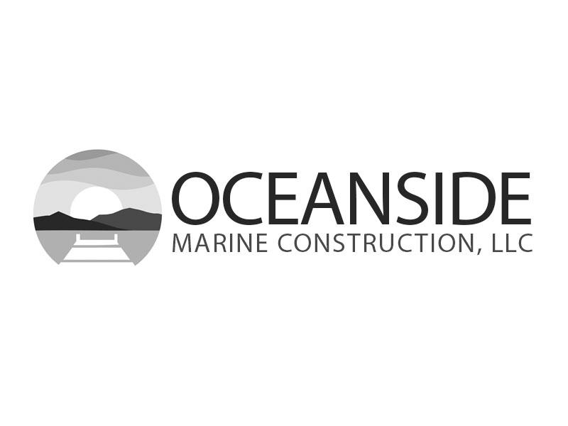 Oceanside Marine Construction, LLC logo design by kunejo