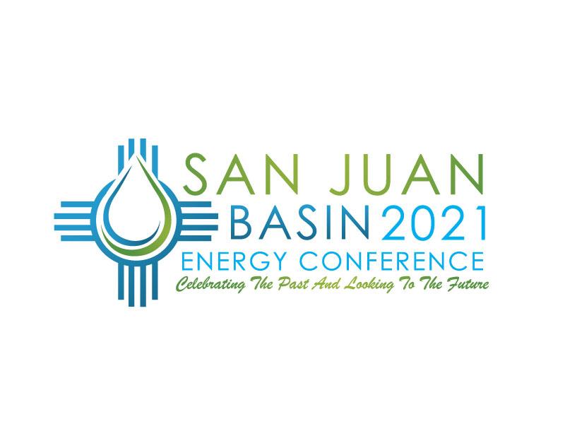 San Juan Basin Energy Conference logo design by REDCROW