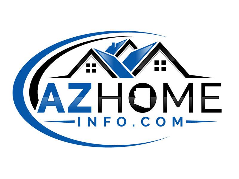 AzHomeInfo.com logo design by DreamLogoDesign