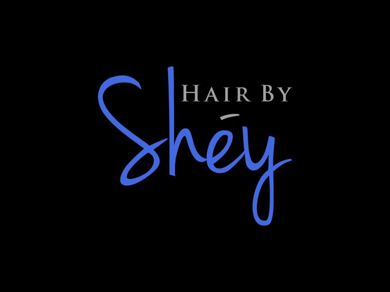 Hair By SHEY logo design by puthreeone
