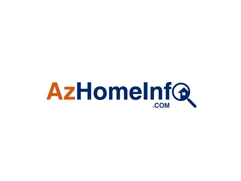 AzHomeInfo.com logo design by leduy87qn