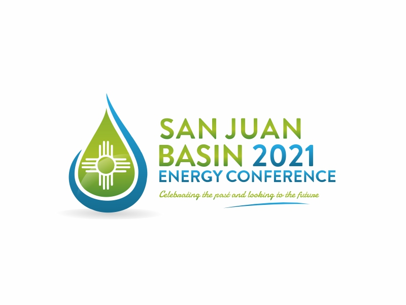 San Juan Basin Energy Conference logo design by ian69