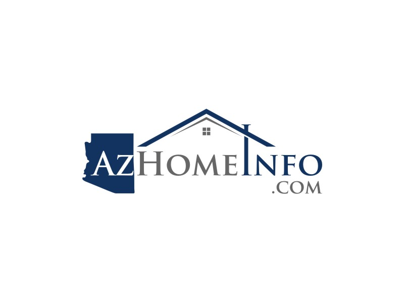 AzHomeInfo.com logo design by johana
