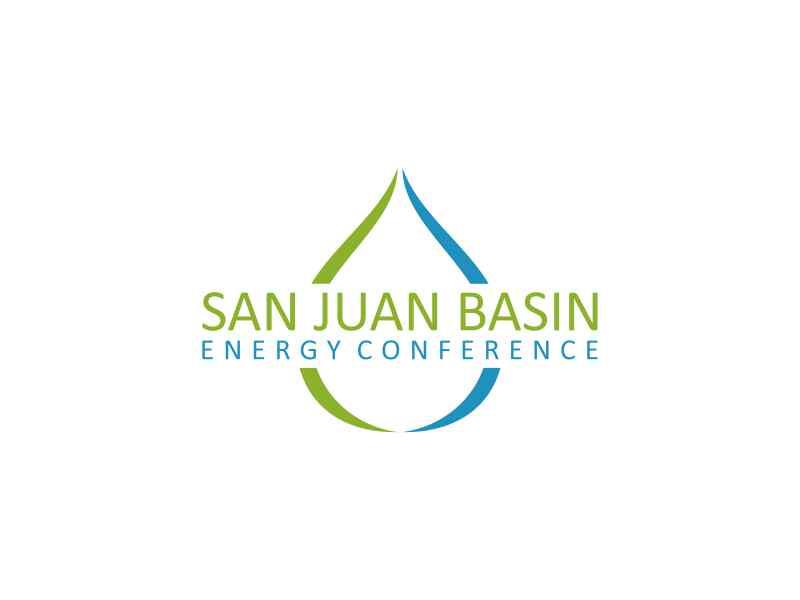 San Juan Basin Energy Conference logo design by hashirama