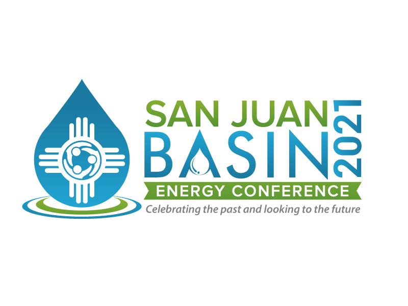San Juan Basin Energy Conference logo design by jaize
