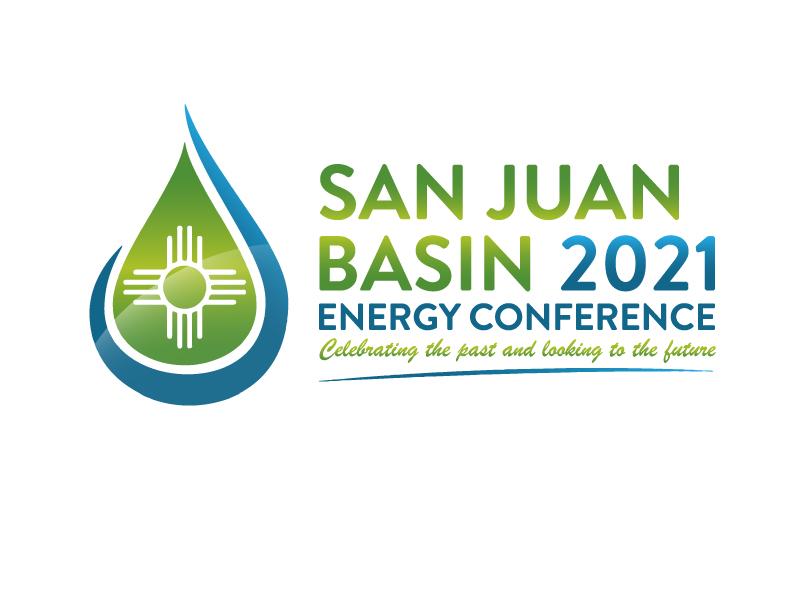 San Juan Basin Energy Conference logo design by Marianne