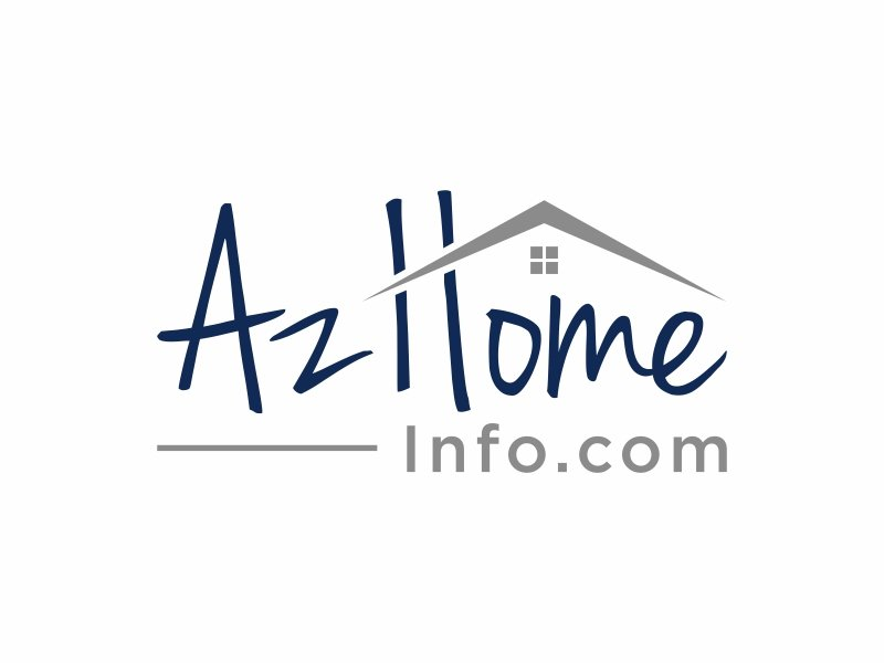 AzHomeInfo.com logo design by puthreeone