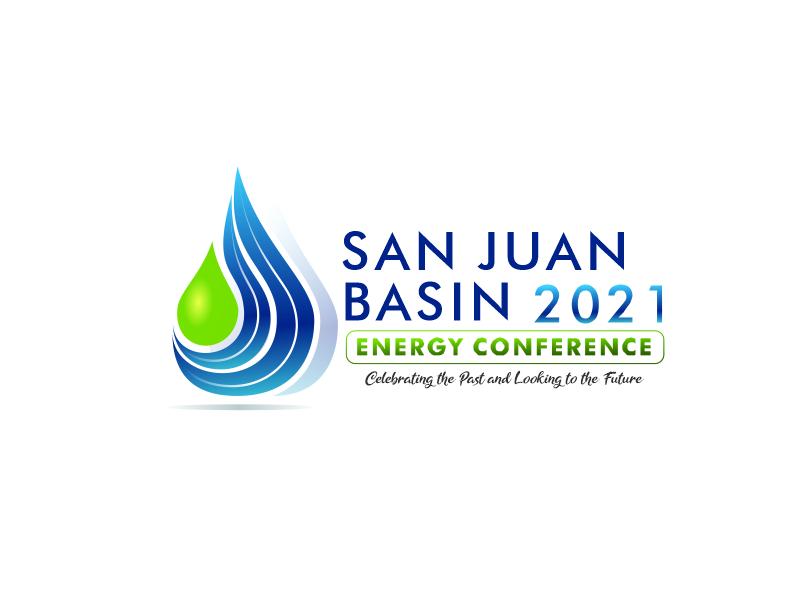 San Juan Basin Energy Conference logo design by TMOX