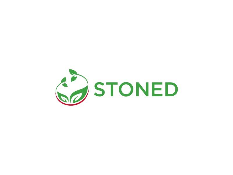 Stoned logo design by Neng Khusna
