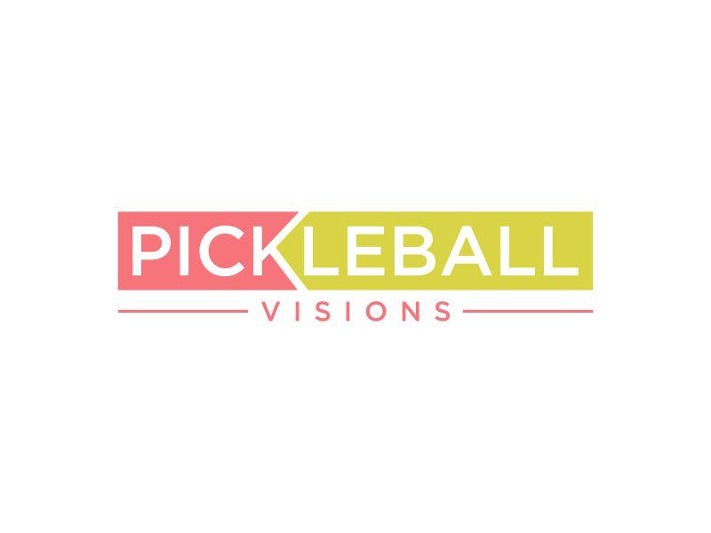 Pickleball Visions logo design by mukleyRx