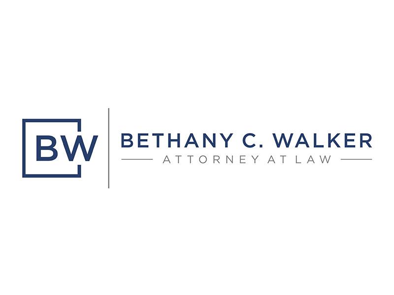 Bethany C. Walker, Attorney at Law Logo Design
