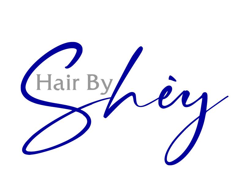 Hair By SHEY logo design by ElonStark