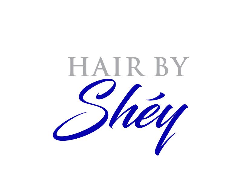 Hair By SHEY logo design by rokenrol