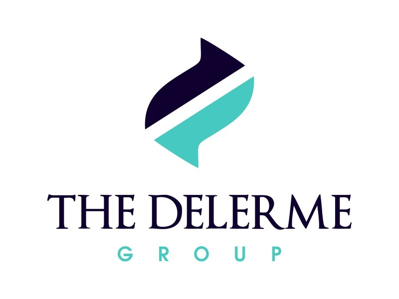 The Delerme Group logo design by JessicaLopes