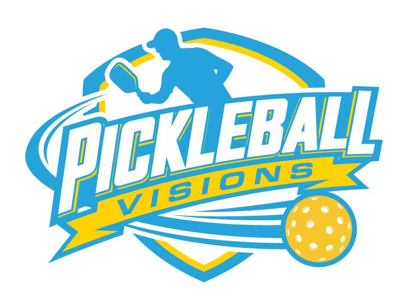 Pickleball Visions logo design by daywalker