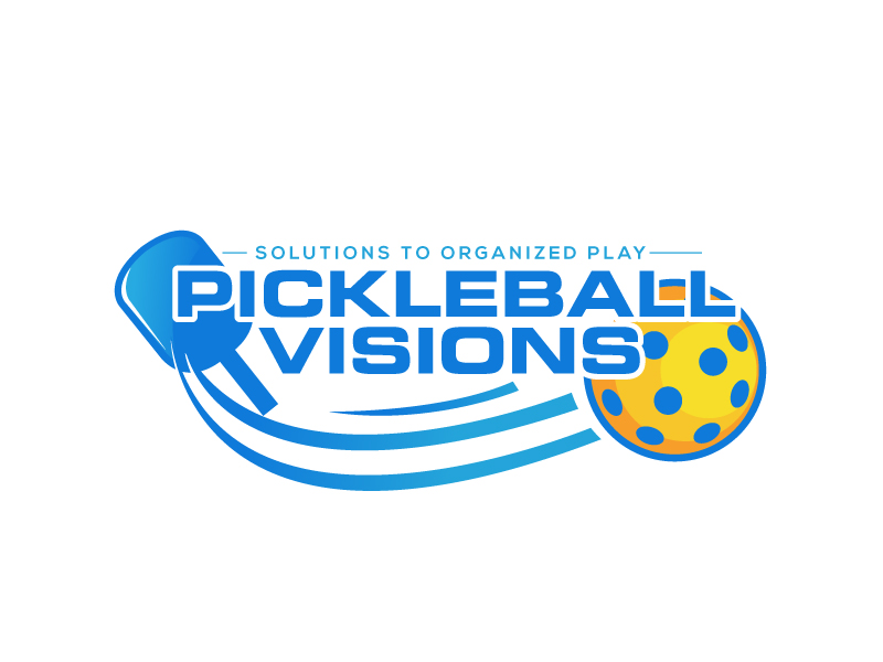 Pickleball Visions logo design by LogoInvent