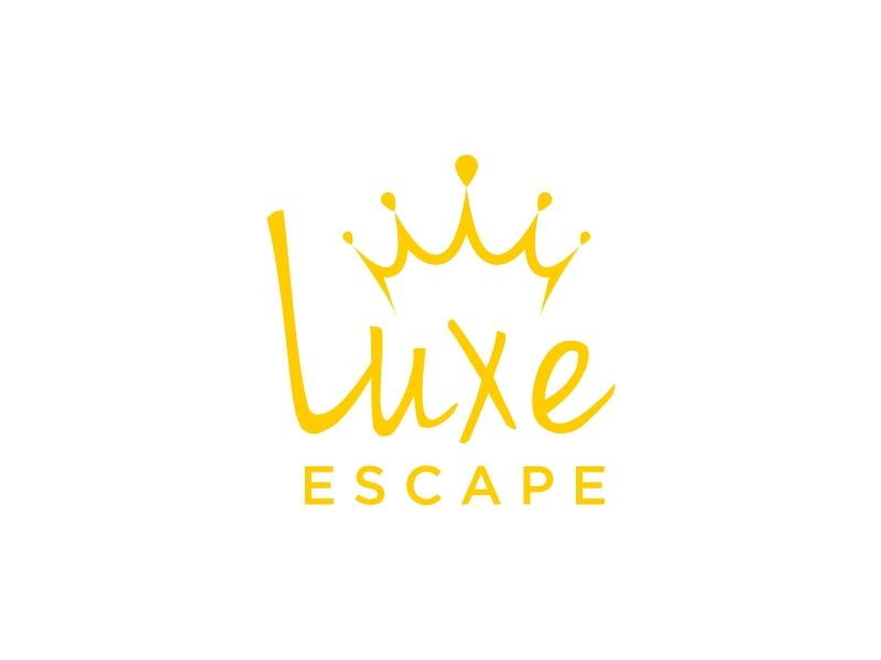 Luxe Escape logo design by GassPoll