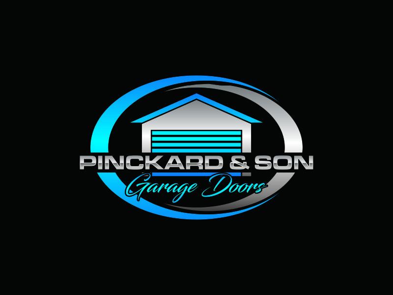 Pinckard & Son Garage Doors logo design by blessings