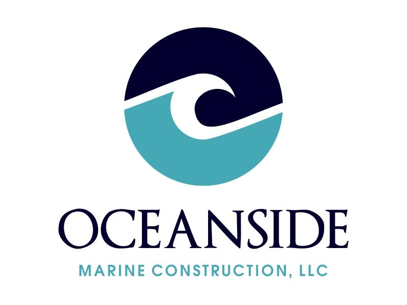 Oceanside Marine Construction, LLC logo design by JessicaLopes