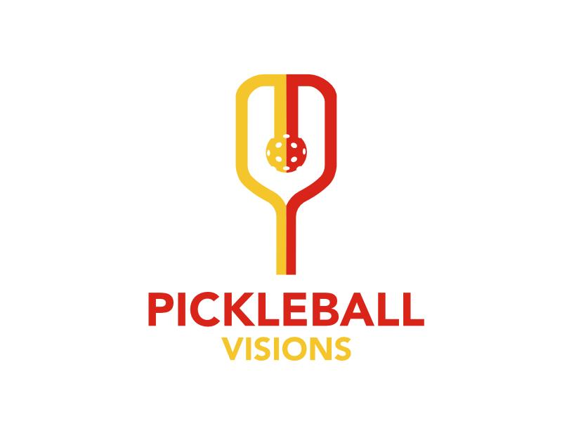 Pickleball Visions logo design by strangefish