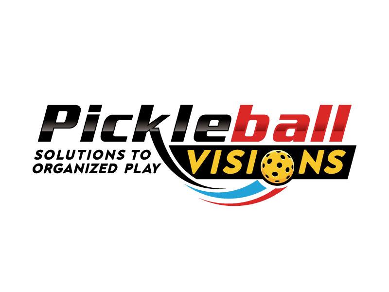 Pickleball Visions logo design by Pompi Saha
