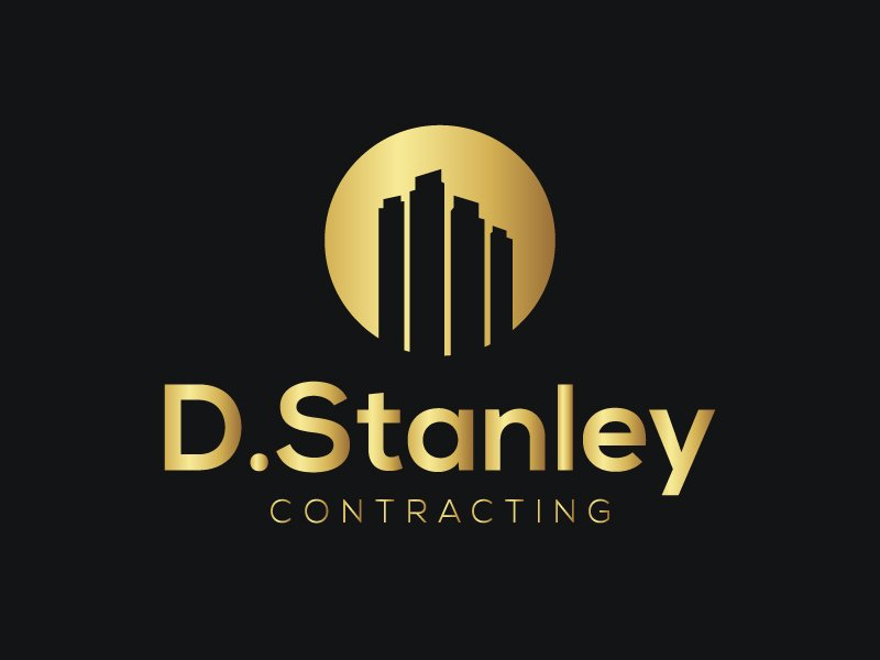 D.Stanley Contracting logo design by Sami Ur Rab